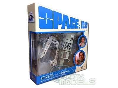 NEW! SPACE: 1999 Stun Gun and Comlock set - With Lights and Authentic Sound Effects! - 1:1 Scale