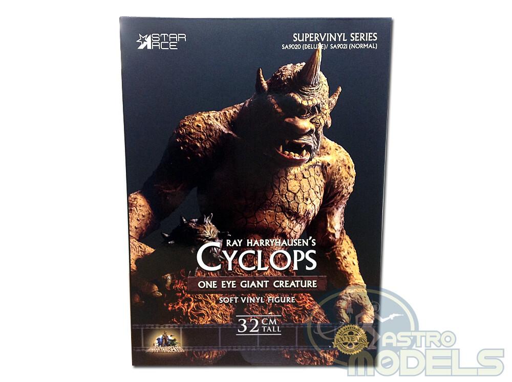 "The 7th Voyage of Sinbad - Ray Harryhausen's Cyclops  - 32 cm Tall (Over 12"") - Soft Vinyl Statue"
