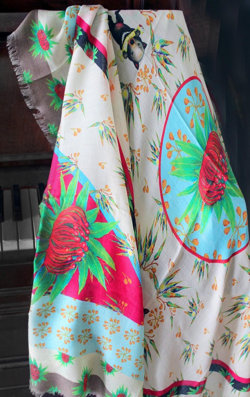 Little Natives® Playful Little Devil scarf/shawl