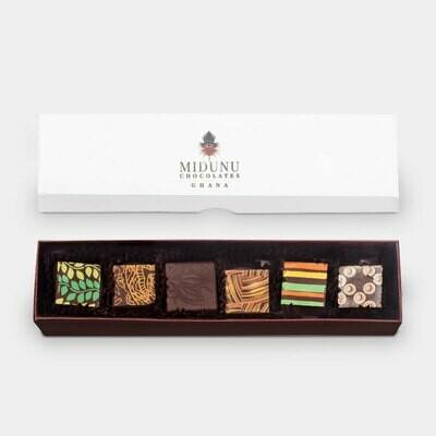 Midunu Chocolates - 6 Piece Box
