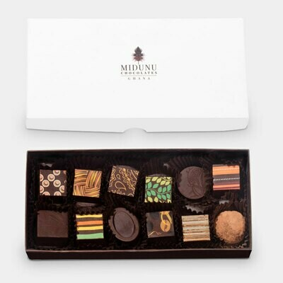Midunu Chocolates - 12 Piece Box