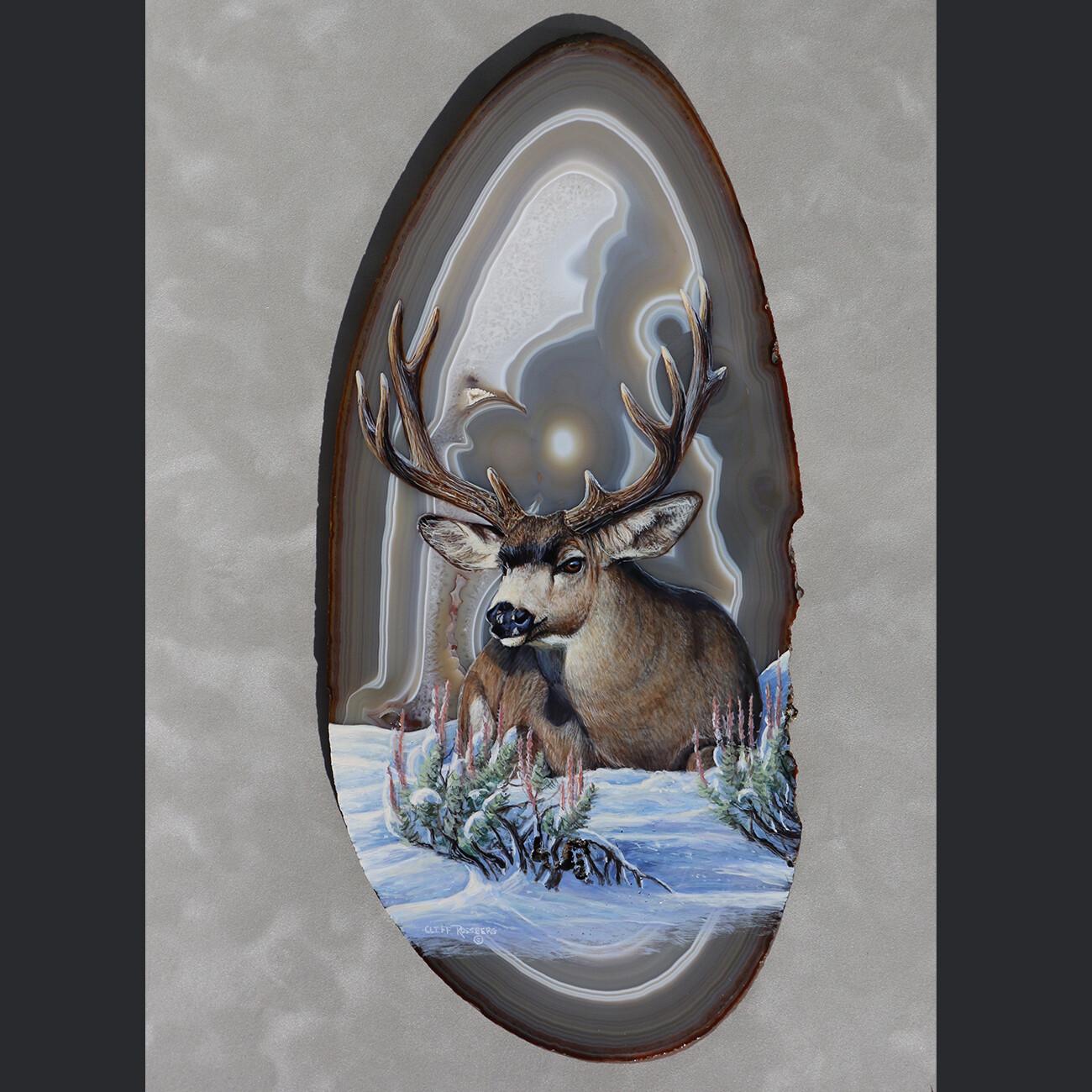 Old Sage-Mule Deer