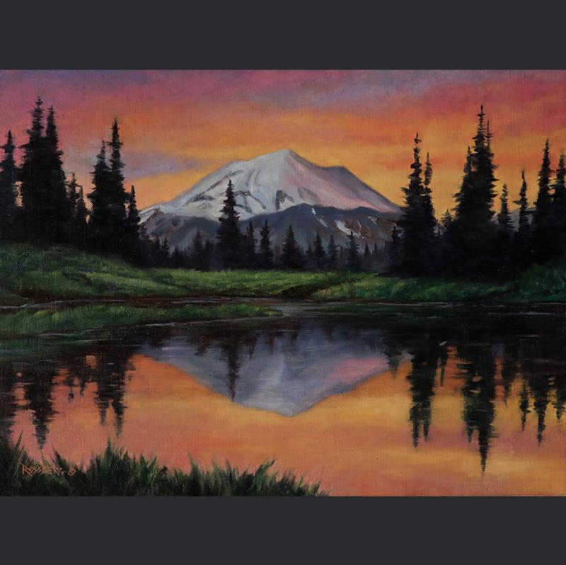 Mount Rainier Sunset