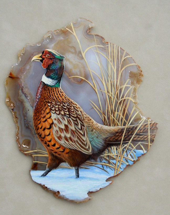 Stepping Out-Pheasant