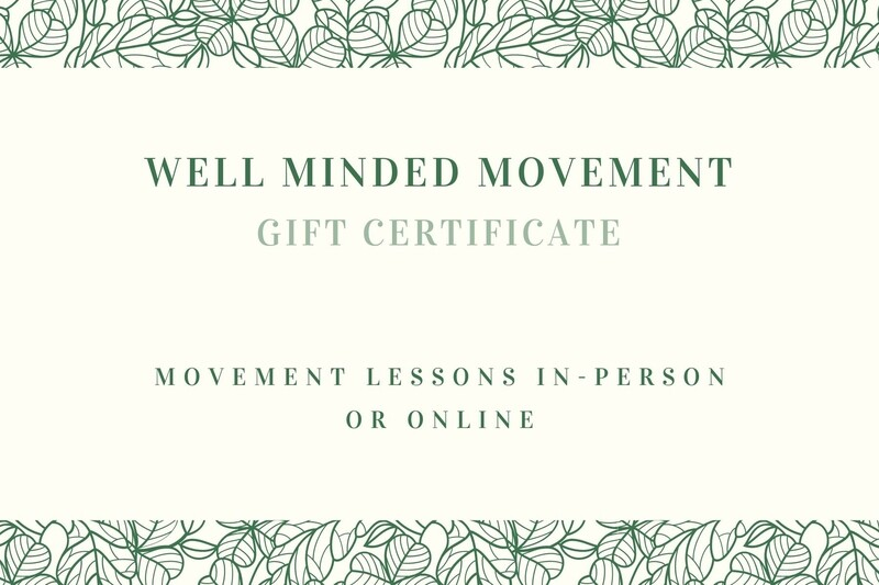Well Minded Movement Gift Card