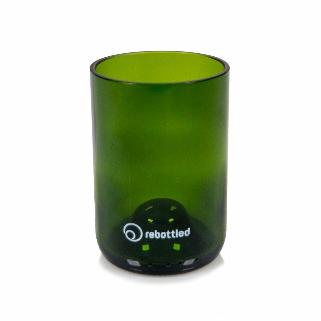 Rebottled drinkglas