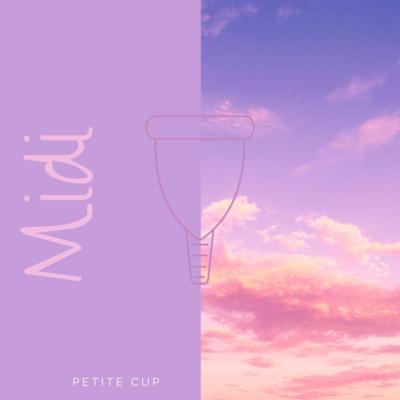 MIDI I Petite size menstrual cup WITH STERI-SPRAY