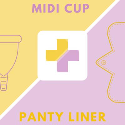 Midi Cup & Panty Liner