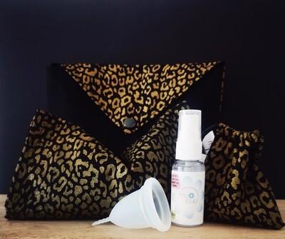 Leopard Print Warmer Bundle - with Medium Cup