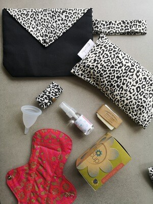 Starter Kit - Monochrome Leopard