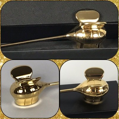 Gold Plated Candle Snuffer                                                          .