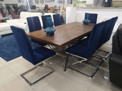 FABIAN 8 SEATER DINING SET
