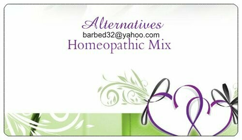 Custom Homeopathic mix 2oz