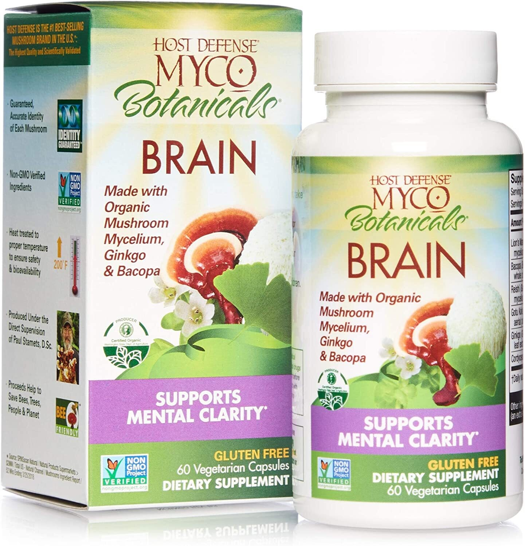 Host Defense MycoBotanicals Brain