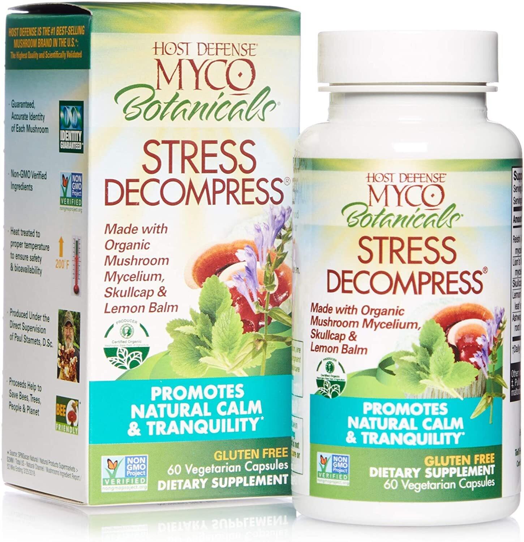 Myco Botanicals Stress Decompress 60 caps