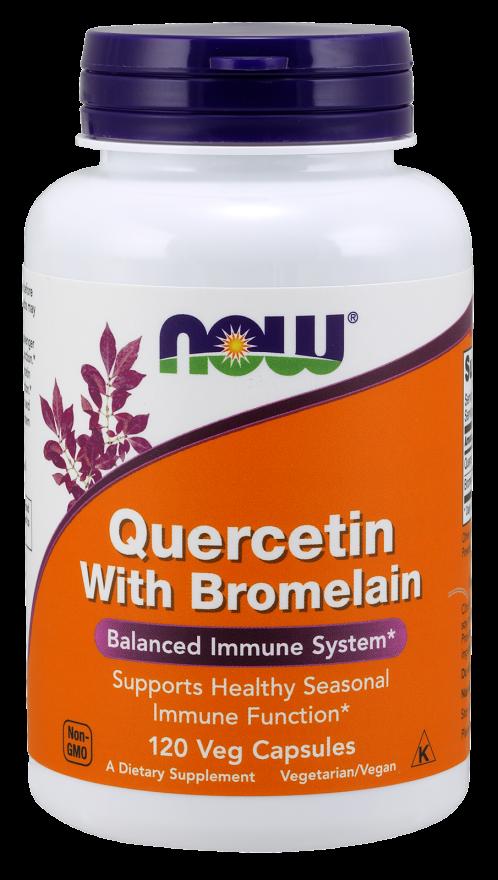 Quercetin with Bromelain 120 vcaps