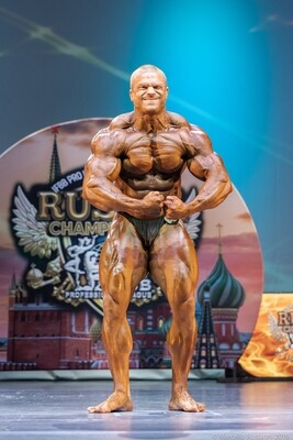 Men's Bodybuilding - St. Petersburg