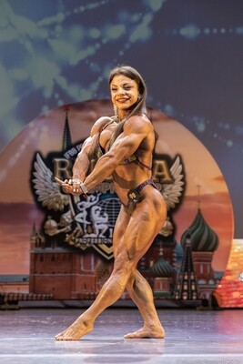 Women's Physique - St. Petersburg