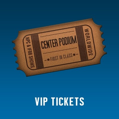 VIP Ticket - St. Petersburg