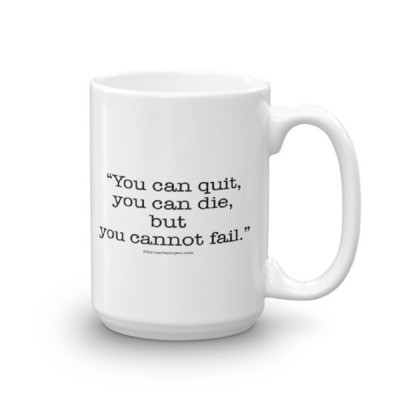 You Can Quit Mug