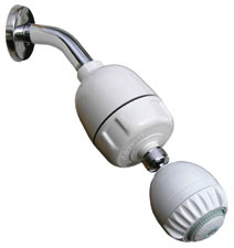 CQ-1000-MS with massage action shower head by Shower Pro