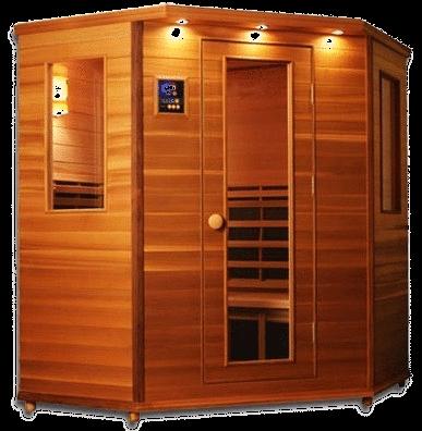 Personal Infrared Sauna Clearlight IS-C 4 Corner Sauna