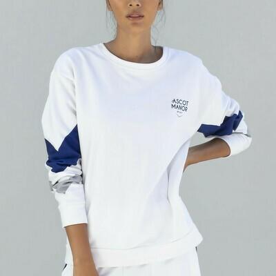 Women's Essential Striped Sweatshirt
