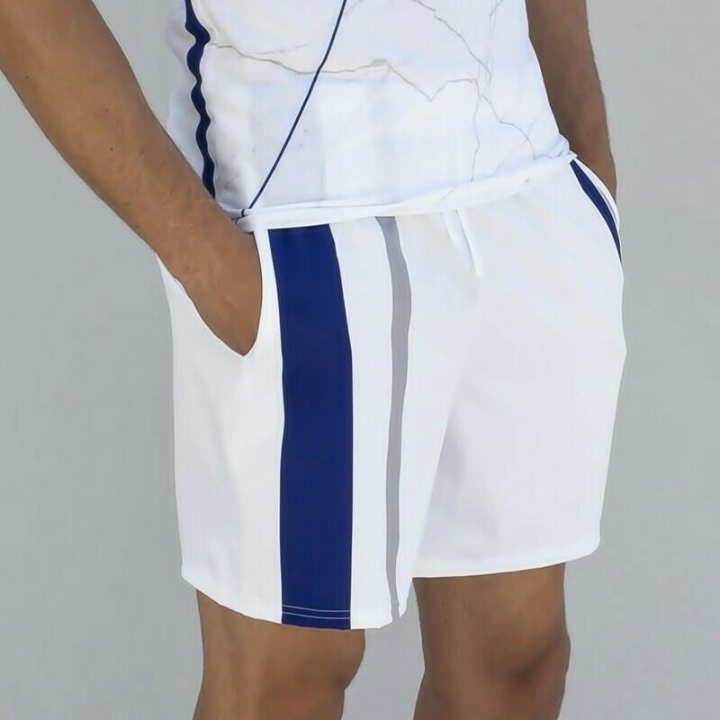 Men's Essential Striped Tennis Shorts