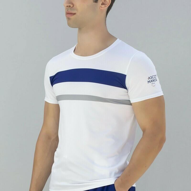 Men's Essential Court Stripe Athletic Shirt