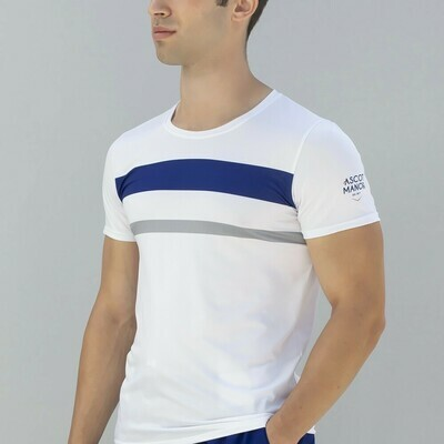 Men's Essential Court Stripe Athletic Shirt