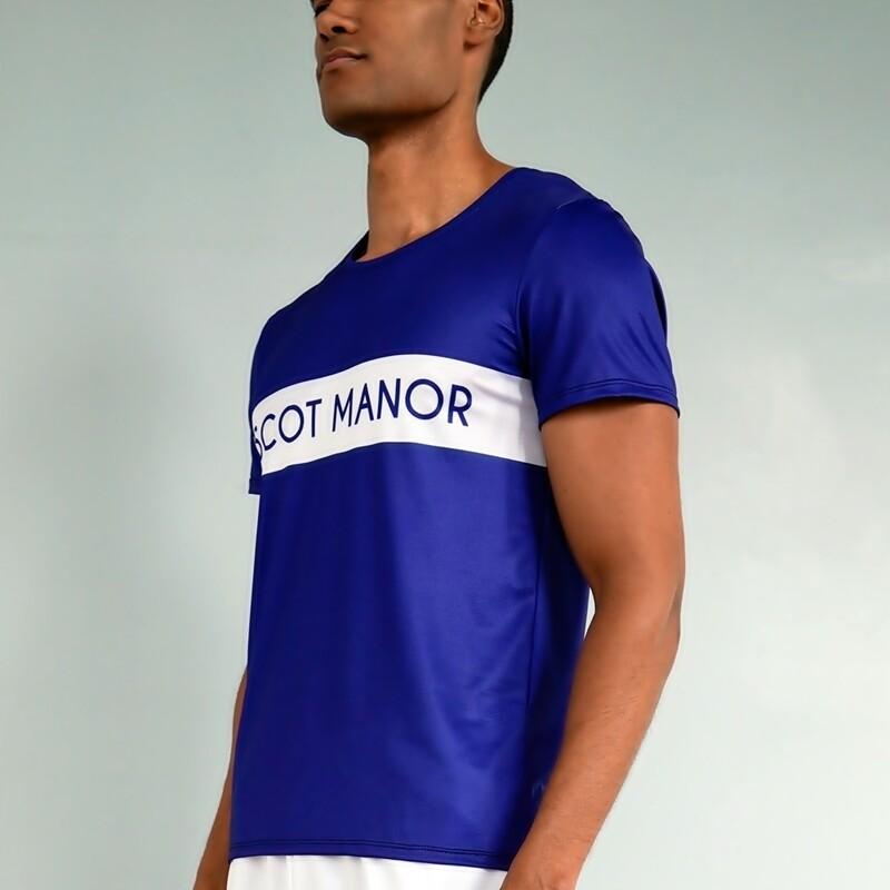 Men's Essential Navy Hard Court Athletic T-shirt