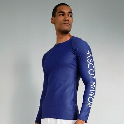 Men's Essential Midnight Sport Rash Guard