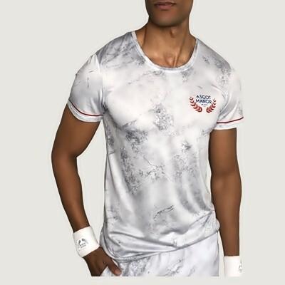 Men's A.M Club Earl Grey Men's Athletic T-shirt