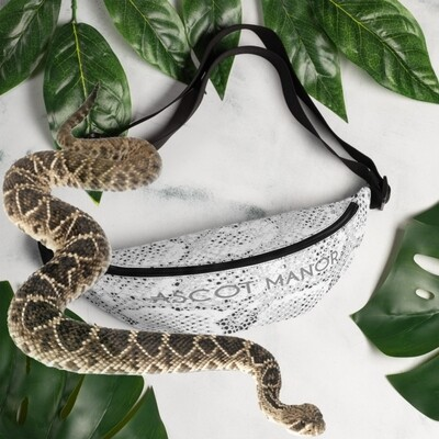 Essential Snake Print Fanny Pack