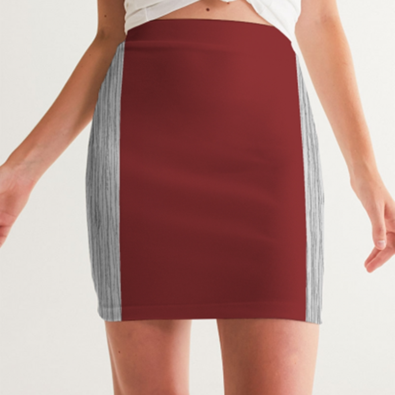 Women's A.M Club Mini Skirt