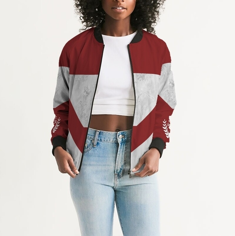 Women's A.M Club Sheila Sport Bomber Jacket