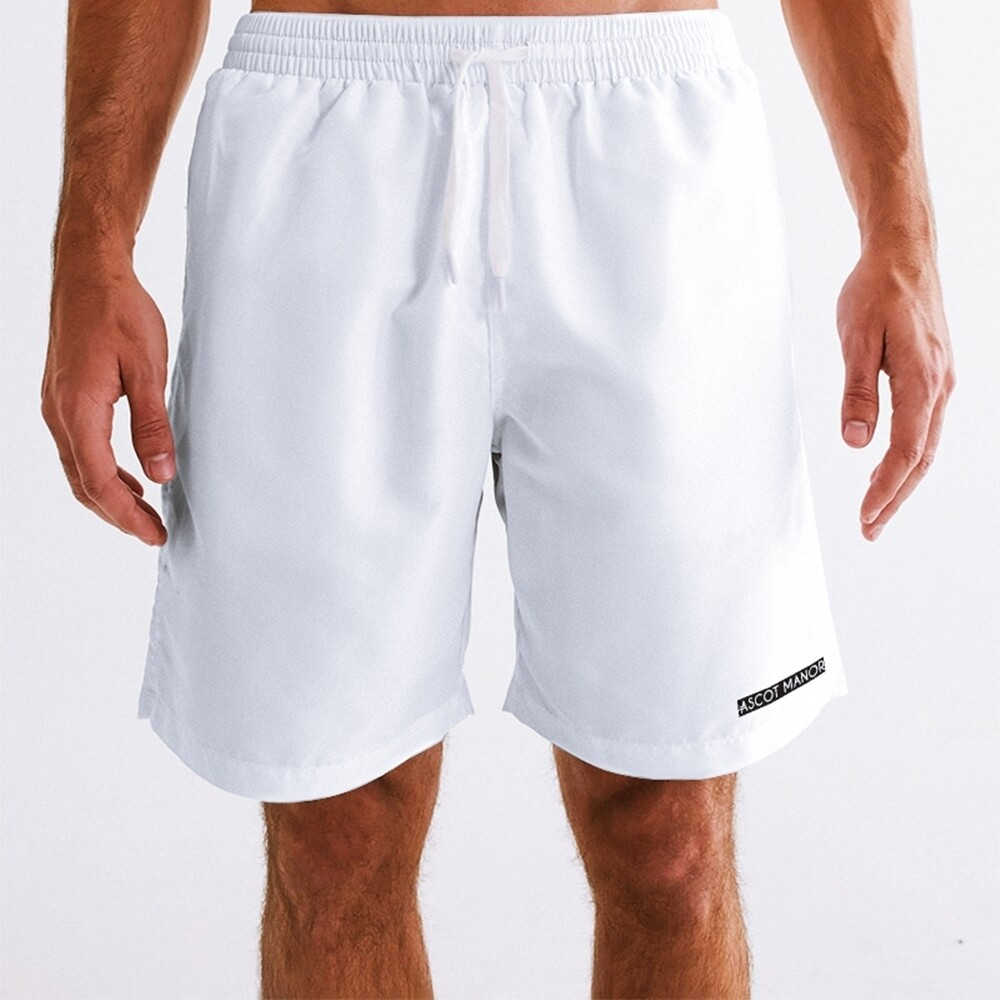 Men's New Horizon-X Ace White 2-n-1 Multi-Sport Shorts