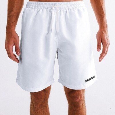 Men's New Horizon-X Ace White 2-n-1 Multi-Sport Shorts