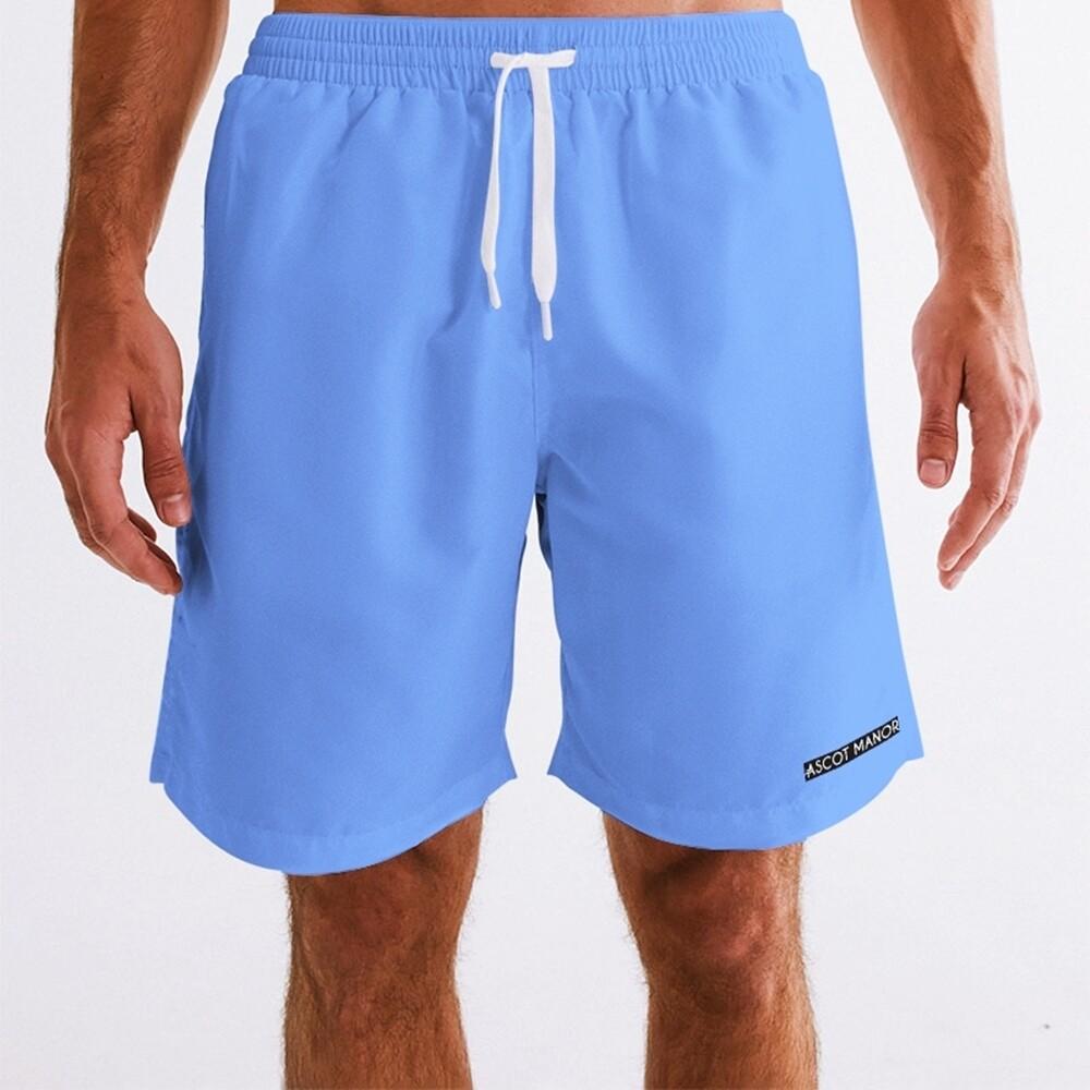 Men's New Horizon-X Sky Blue 2-n-1 Multi-Sport Shorts