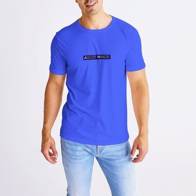 Men's New Horizon-X Label Blue T-Shirt