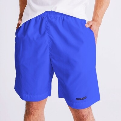 Men's New Horizon-X Label Blue Jogger Style Tennis Shorts