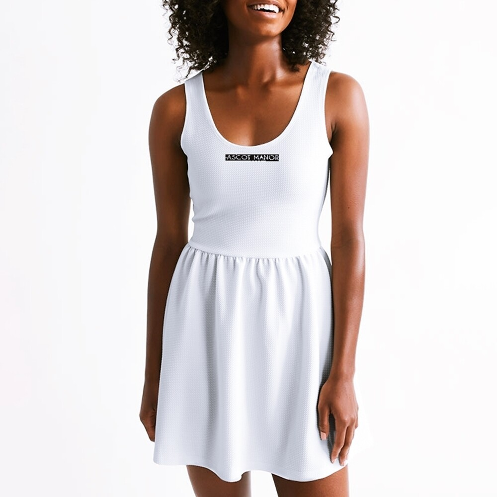 Women's New Horizon-X Ace White Classic Scoop Tennis Dress