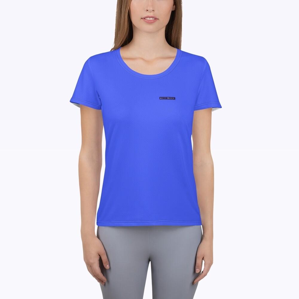 Women's New Horizon-X Blue Court Tennis T-shirt