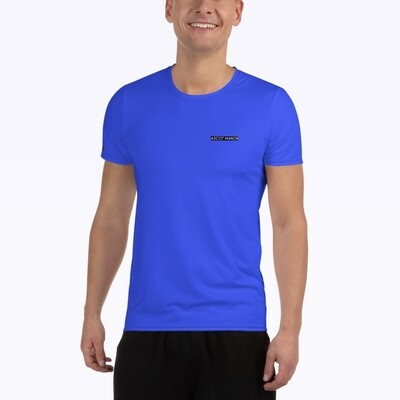 Men's New Horizon-X Blue Court Tennis Shirt