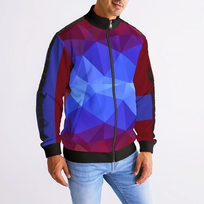 Men's Horizon-X Matrix Stripe Sleeve Track Jacket