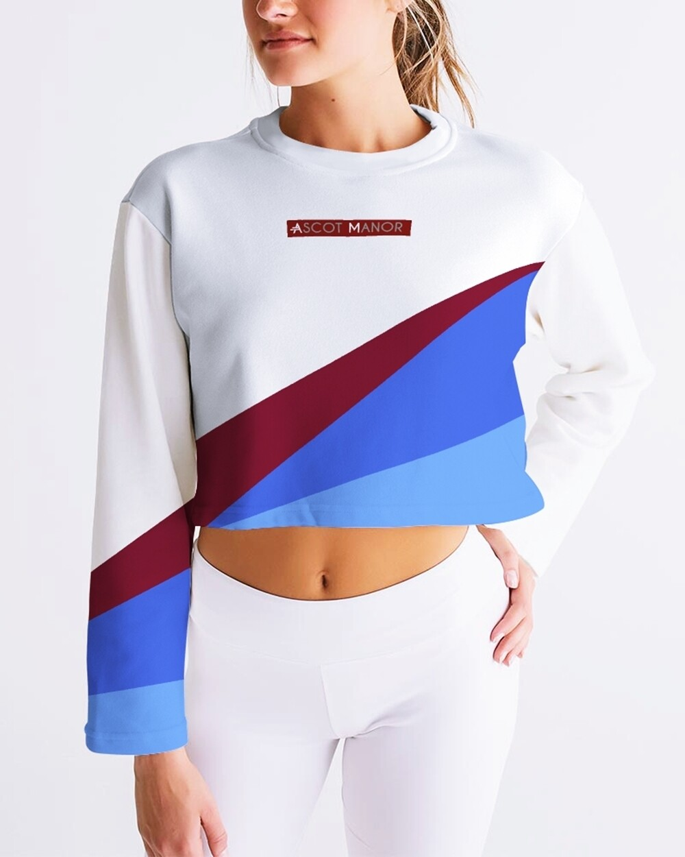 Women's Horizon-X Net Cropped Sweatshirt
