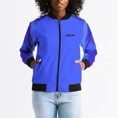 Women's Horizon-X Blue Court Bomber Jacket