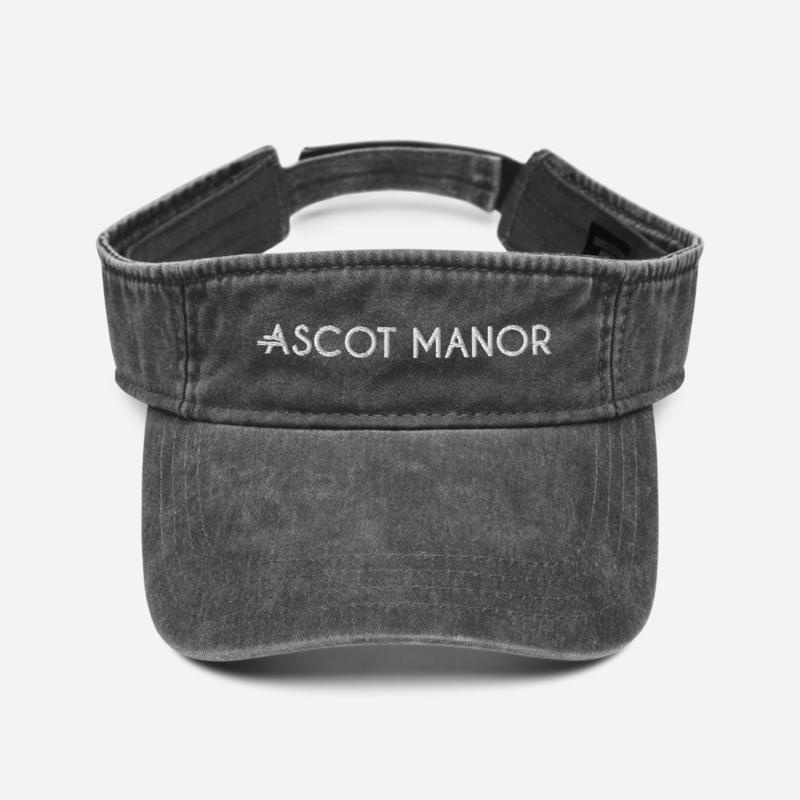 Women's A.M Grey Denim visor