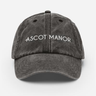 Men's A.M Grey Vintage Hat