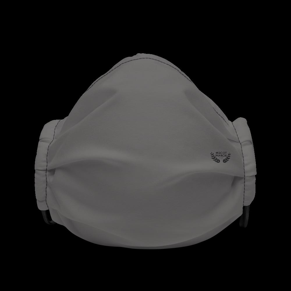 A.M. Smoke Grey Face Mask